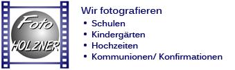 Foto Team Holzner e.k. • Fotografie & Werbetechnik